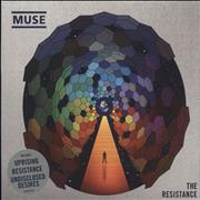 Muse The Resistance UK CD album