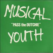 Click here for more info about 'Musical Youth - Pass The Dutchie - P/S'
