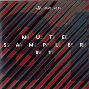 Mute Label Mute Sampler #1 UK CD album Promo