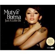 Mutya Buena Just A Little Bit UK CD single