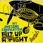 Click here for more info about 'My Awesome Compilation - Put Up A Fight + Light Blue Vinyl - Autographed'