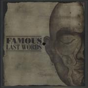 Click here for more info about 'Famous Last Words'