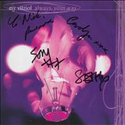 Click here for more info about 'My Vitriol - Always: Your Way - Autographed'