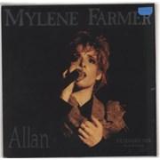 """Mylene Farmer Allan - Red Vinyl - Sealed France 12"""" vinyl"""