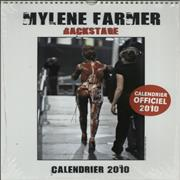 Click here for more info about 'Mylene Farmer - Backstage Calendrier 2010'