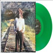 Click here for more info about 'Mylene Farmer - California Remixes - Double Pack - Green Vinyl'