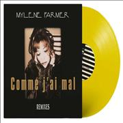 Click here for more info about 'Mylene Farmer - Comme J'ai Mal - Remixes - Yellow - Sealed'