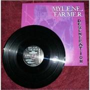 """Mylene Farmer Degeneration - Sealed France 12"""" vinyl"""