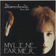 """Mylene Farmer Desenchantee (Remix Club) - Sealed France 12"""" vinyl"""