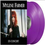 Click here for more info about 'Mylene Farmer - En Concert - Purple Vinyl - Sealed'