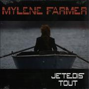"Mylene Farmer Je Te Dis Tout - Sealed France 12"" vinyl"