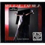 Mylene Farmer Je Te Rends Ton Amour - Sealed France CD single