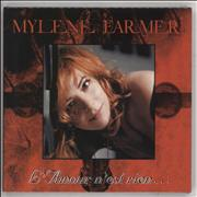 Click here for more info about 'Mylene Farmer - L'Amour N'est Rien - Sealed'
