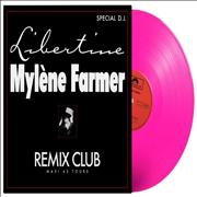Click here for more info about 'Mylene Farmer - Libertine - Remix Club - Pink Vinyl - Sealed'
