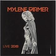 Mylene Farmer Live 2019 - Sealed France 3-LP vinyl set
