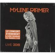 Mylene Farmer Live 2019 - Sealed France 2-CD album set