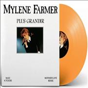 Click here for more info about 'Mylene Farmer - Plus Grandir - Live - Orange Vinyl'