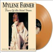 Click here for more info about 'Mylene Farmer - Pourvu Qu'elles Soient Douces - Orange Vinyl'