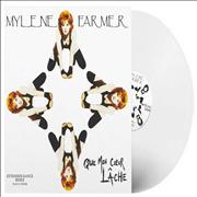 Click here for more info about 'Mylene Farmer - Que Mon Coeur Lache - Grey Vinyl'