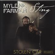 "Mylene Farmer Stolen Car (Remixes) - Sealed France 12"" vinyl"