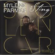 "Mylene Farmer Stolen Car (Remixes 2) - Sealed France 12"" vinyl"