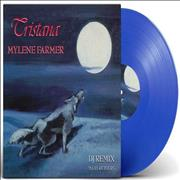 Click here for more info about 'Mylene Farmer - Tristana - DJ Remix - Blue Vinyl'
