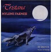 "Mylene Farmer Tristana - DJ Remix France 12"" vinyl"