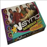 Click here for more info about 'N Sync - Backstage Pass Game - Sealed'