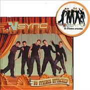 Click here for more info about 'N Sync - No Strings Attached + address book'