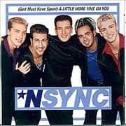 Click here for more info about 'N Sync - (god Must Have Spent) A Little More Time'