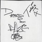 Click here for more info about 'N-Dubz - Set of Autographs'