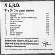 Click here for more info about 'NERD - Fly Or Die'