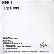 Click here for more info about 'NERD - Lap Dance'