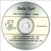 Click here for more info about 'Nada Surf - See These Bones'