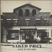 Naked Prey Live In Tucson Netherlands vinyl LP