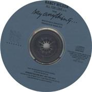 Nancy Wilson (Heart) All For Love USA CD single Promo