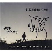 Nancy Wilson (Heart) Elizabethtown - Autographed USA CD album