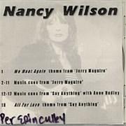 Nancy Wilson (Heart) Nancy Wilson USA CD-R acetate Promo