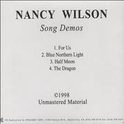 Click here for more info about 'Nancy Wilson (Heart) - Song Demos'