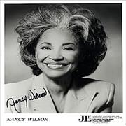 Click here for more info about 'Nancy Wilson (Jazz) - Autographed Smiling Publicity Photograph'