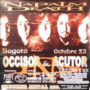 Click here for more info about 'Napalm Death - Bogota Octubre 23'