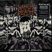 Click here for more info about 'Napalm Death - From Enslavement To Obliteration - stickered p/s'