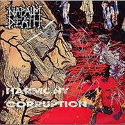 Click here for more info about 'Napalm Death - Harmony Corruption - autographed'