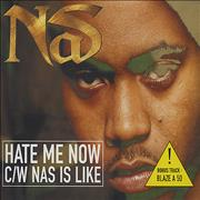 Click here for more info about 'Nas - Hate Me Now'