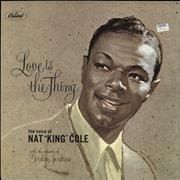 Click here for more info about 'Nat King Cole - Love Is The Thing'