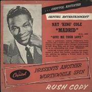 Click here for more info about 'Nat King Cole - Madrid'