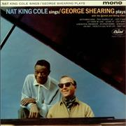 Click here for more info about 'Nat King Cole - Nat King Cole Sings / George Shearing Plays'