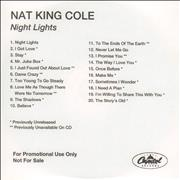 Click here for more info about 'Nat King Cole - Night Lights'