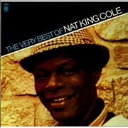 Click here for more info about 'Nat King Cole - The Very Best Of Nat King Cole - peach label'