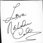 Click here for more info about 'Natalie Cole - Autograph'